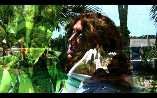 Conrad VENTUR collaborations with Mario Montez, Untitled video still, Mario Montez in the short film Boca Chica, 2013