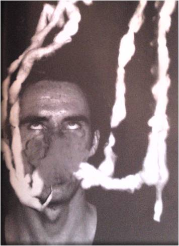 Mike Kelley, photograph from The Poltergeist, 1979 (with David Askevold)
