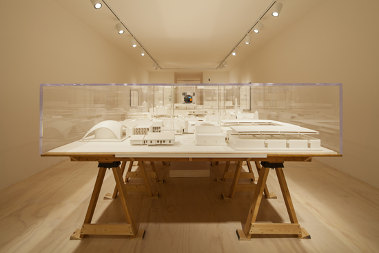 """Installation view of Mike Kelley's """"Educational Complex"""" at MoMA PS1, 2013. Photo: Matthew Septimus."""