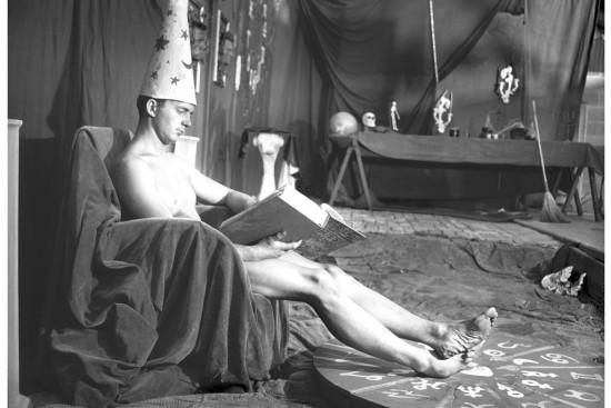 "Bob Mizer, Still from ""Witch Boy,"" 1955 (Courtesy Bob Mizer Foundation)"