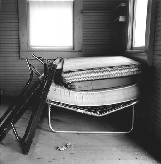 Albert J. Winn, Summer Joins The Past: Mattresses, Catskill Mnts., NY, 2001