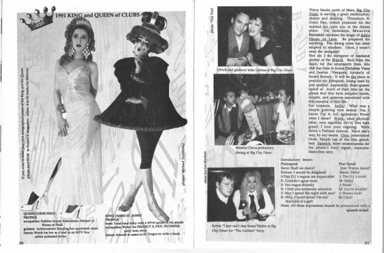 Project X issue #16 with the King and Queen of Clubs (James St. James and Codie Field)