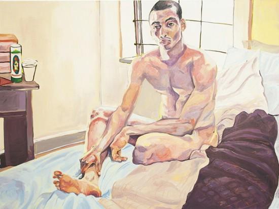 Jordan Casteel, Elijah, 2013, oil on canvas, 52 x 72 inches