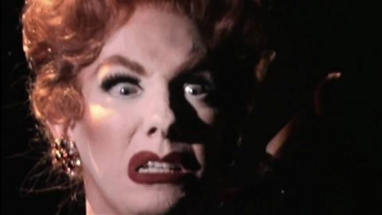 Lypsinka goes full-on Mommie Dearest Joan Crawford