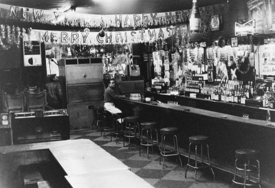 Sheldon Nadelman, Inside the Terminal Bar, 1976 (via nytimes.com)