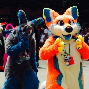 Mama Does The Furry Convention…Well, From A Bar Across The Street
