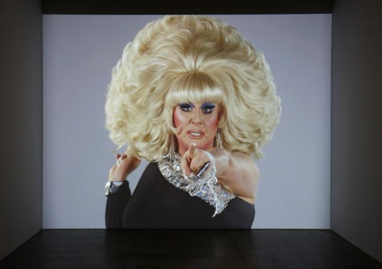 Charles Atlas, Here She Is from The Waning of Justice, 2015, single-channel video installation with sound (19: 15) (Courtesy the artist and Luhring Augustine, New York)