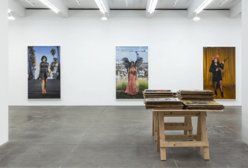 Installation View, Andrew Kreps Gallery, New York, 2016