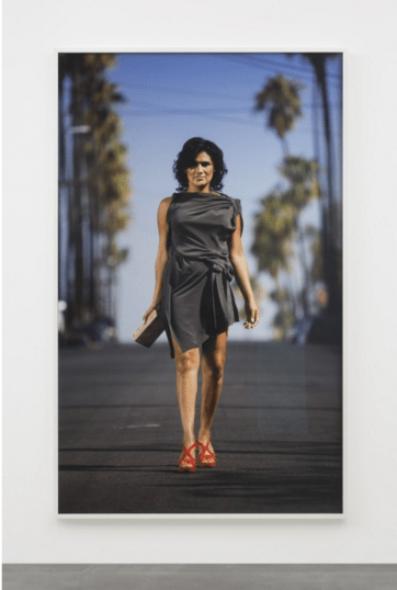 Andrea Bowers, Trans Liberation: Beauty in the Street (Johanna Saavedra) (in collaboration with Ada Tinnell), 2016 Archival pigment print