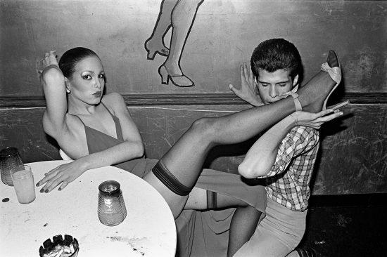"""Bill Bernstein, GG's Barnum Room, """"Ava"""", 1979, dimensions variable, 35mm slide transfer."""