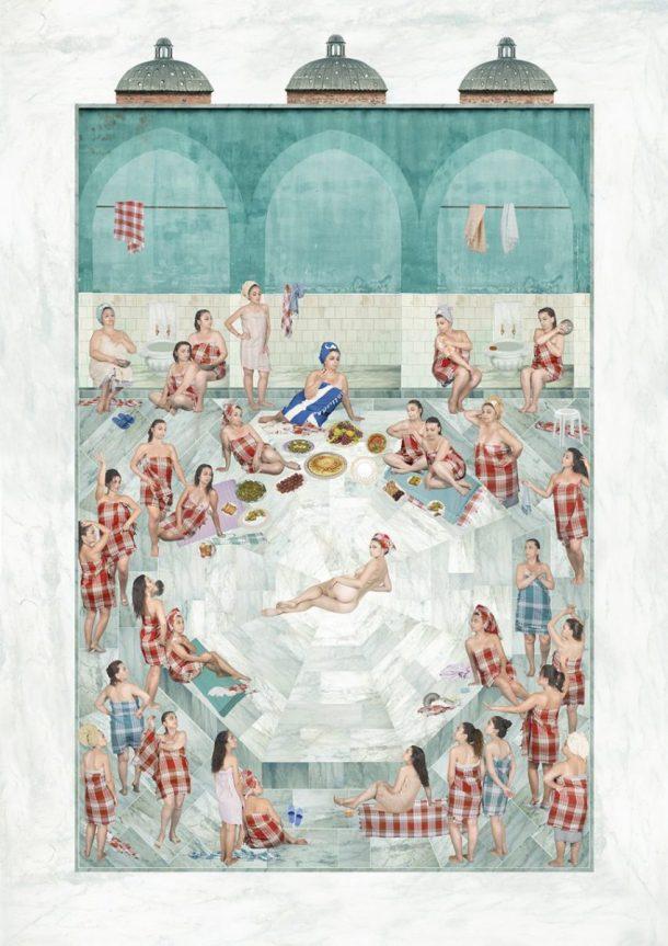 Sinan Tuncay, Bridal Bath (Public Intimacy), 2015