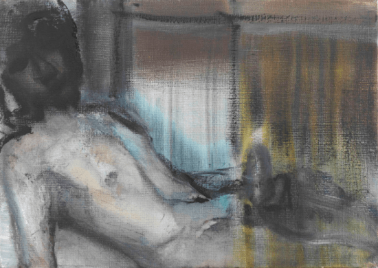Marlene Dumas, Morning Glory, 1998-2001, oil on canvas