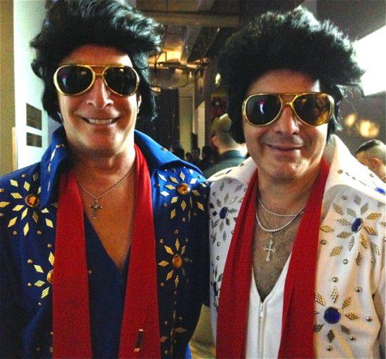 Amazing 'Elvis' duo