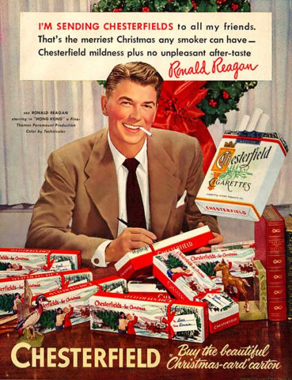 Even Reagan can't deny Christmas mania