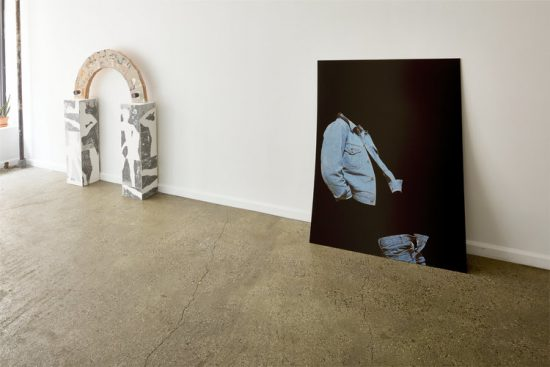 Installation view of Like Smoke at Equity Gallery, New York (Photo: NYArt Photography)