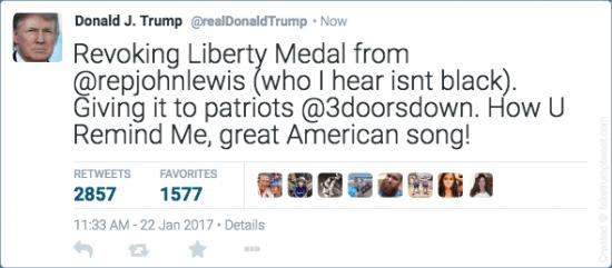 Uncanny realism courtesy Fake Trump Tweets