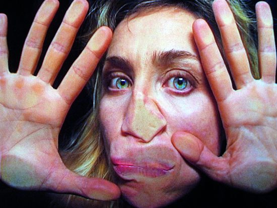 Pipilotti Rist, Open My Glade (Flatten), 2000 (still) Single-channel video installation, silent, color; 9:07 min, Courtesy the artist, Hauser & Wirth, and Luhring Augustine