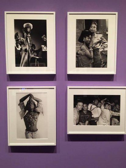 Installation view of Chantal Regnault's ballroom photos