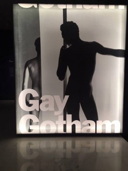 Installation view of Gay Gotham at the Museum of the City of New York (all photos by author)