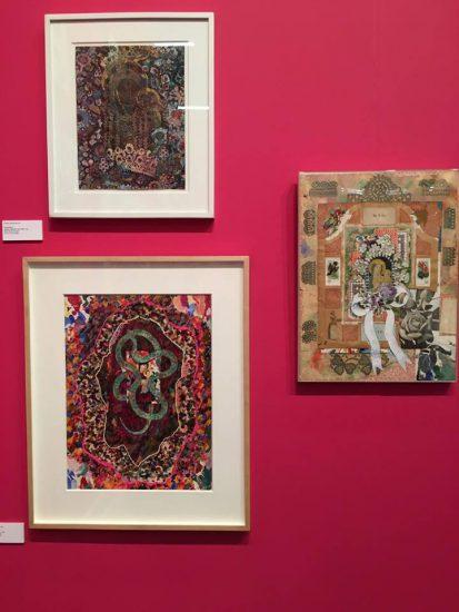 Selection of Joe Brainard's work (photo by author)