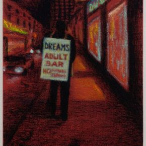 """Feeling Sleazy in Seedy Sin City: Traces of Old Times Square in """"The Deuce"""" and Jane Dickson's """"All That is Solid Melts into Air"""""""