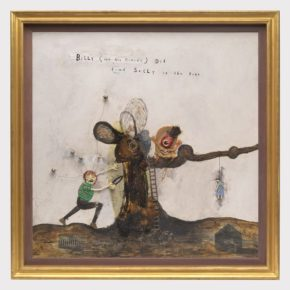 """Weeping At The Seeping Beauty Of Band-Aids At David Lynch's """"Squeaky Flies In The Mud"""""""