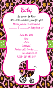 Ready to be custom-made baby shower invites