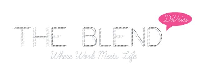 A logo for a PR company's blog