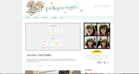 Filthymuggle Website Design