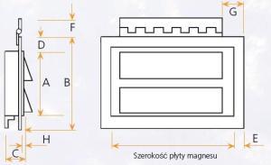 wymiary magnesu
