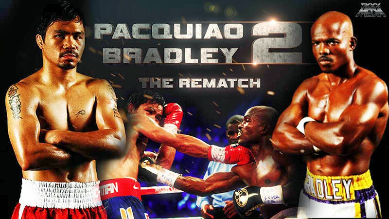 Pacquiao vs Bradley 2 Rematch