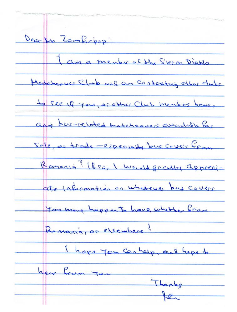 Scrisoare de la un filumenist (2/3)