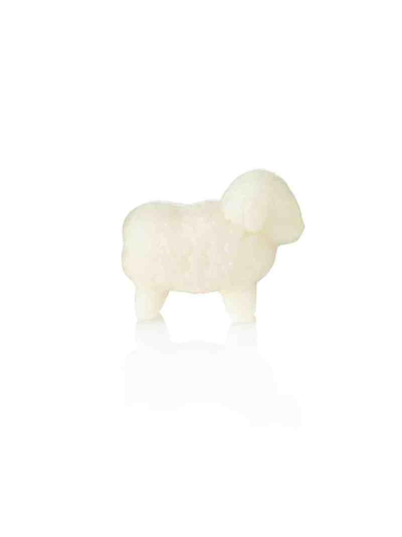 Schafmilchseife klein, weiß