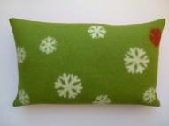 "Kissen ""green winter collection"""