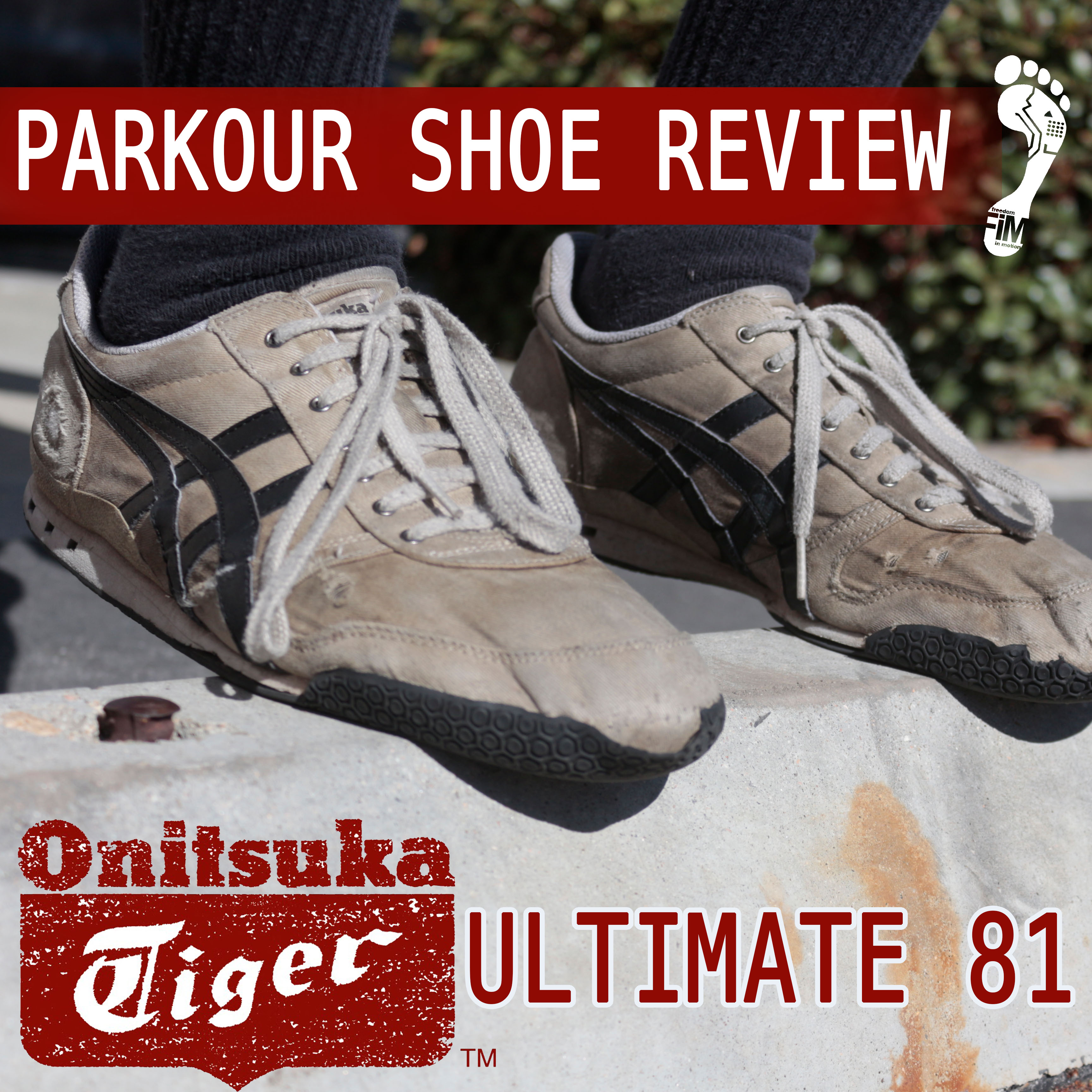 newest 1a7f1 0ba60 Parkour Shoe Review   Onitsuka Tiger Ultimate 81 – Freedom ...