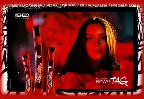 Kenzo Flower Tag ~ Novosti