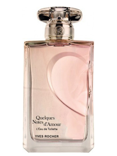 Quelques Notes d'Amour L'Eau de Toilette Yves Rocher ...