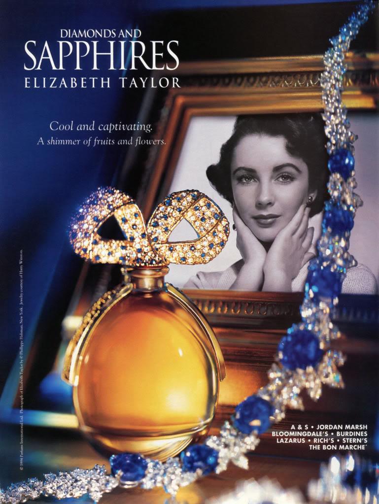 White Diamonds And Sapphire Perfume