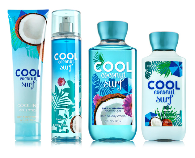 Coconut Bath And Body Works