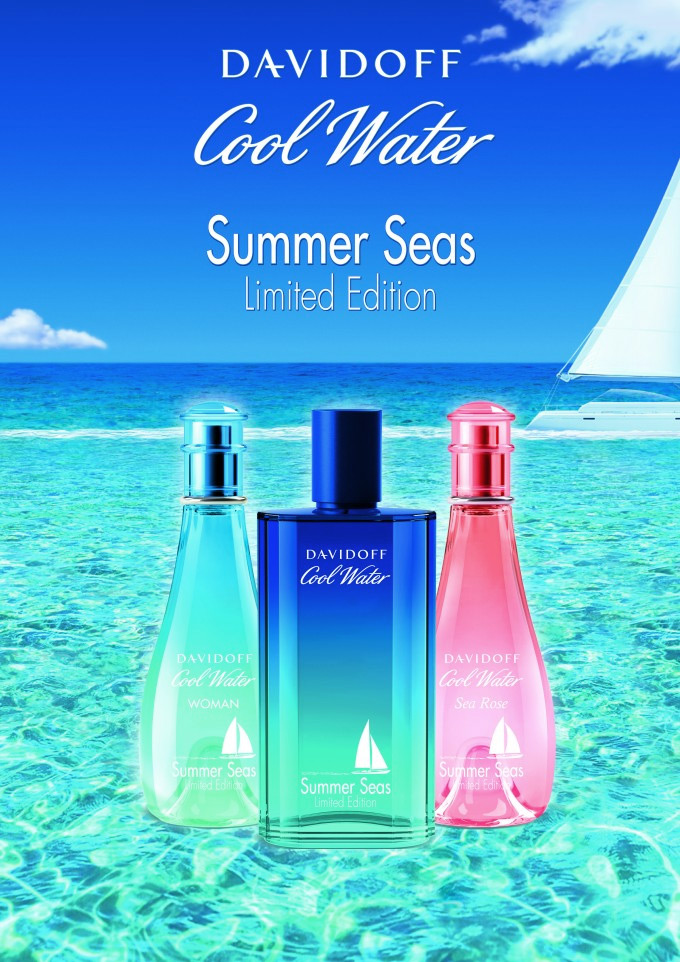 Cool Water Sea Rose Summer Seas Davidoff perfume - a new ...