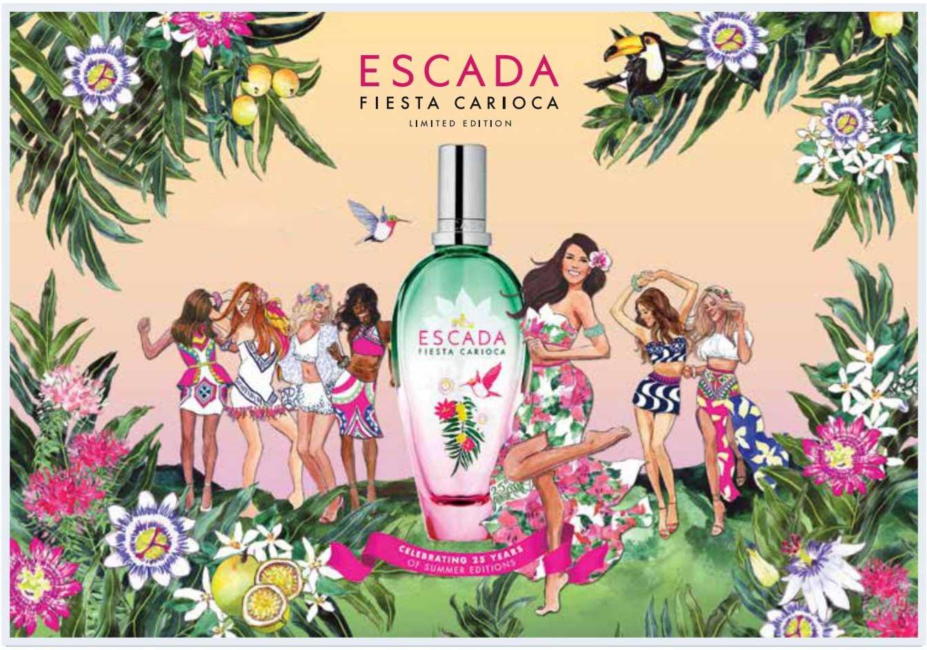 Escada Perfume Limited Edition 2017