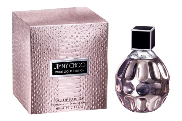 Rose Gold Edition Jimmy Choo perfume a new fragrance for