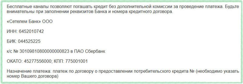 сетелем банк кредит на карту сбербанка бюро кредитных историй архангельск