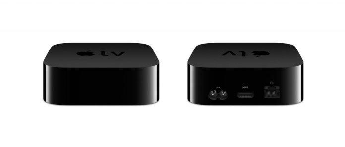 Apple TV 4K front + back