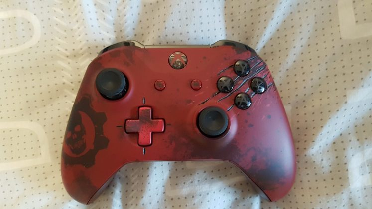 gears of war 4 xbox one s controller