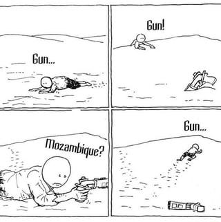Mozambique meme