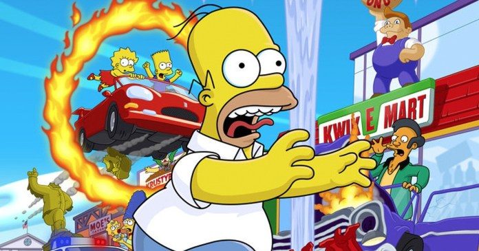 Hit and Run simpsons