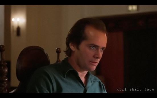Jim Carrey in The Shining Ctrl Shift Face