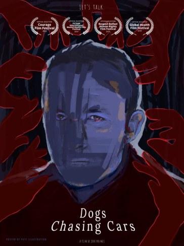 Dogs Chasing Cars short film Jon Holmes poster