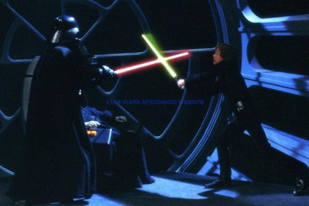 Best Lightsaber Battles: Darth Vader v Luke Return Of The Jedi